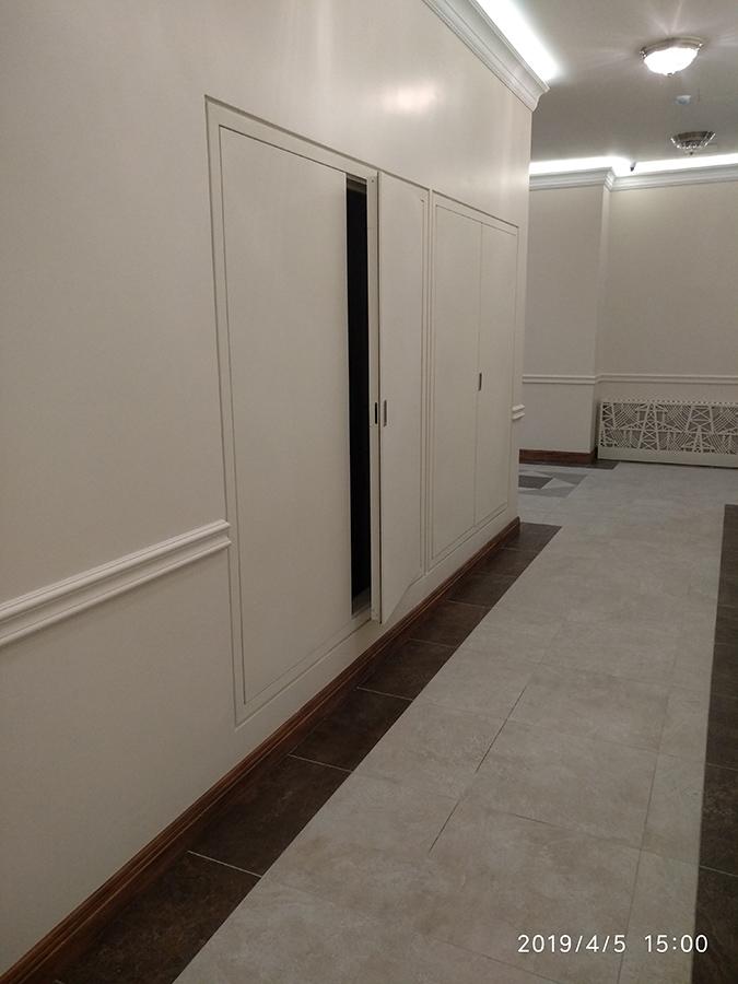 Дверь скрытая с «креповкой»
