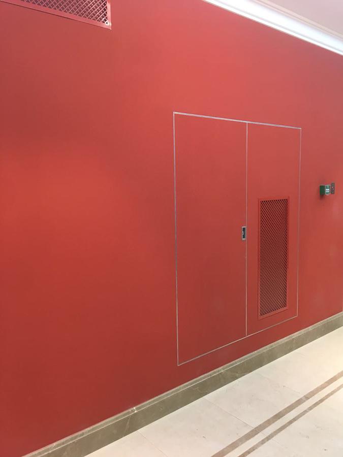 Люк-дверь Техно под покраску (Противопожарный)